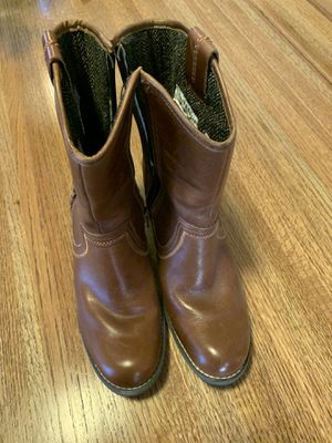 Women's Boots (Shoes) Hush Puppies size 7.5M Leather, Watherproof for Sale in East Wenatchee, WA