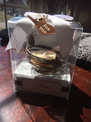 Birds Nest Tea Light Candle Holder for Sale in Martinsburg, WV