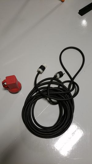 RV and Electric Car Cable, 50 ft, 10 gauge custom made perfect for RV's for Sale in Lakeland, FL