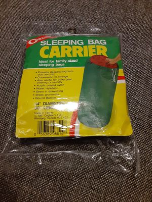 Sleeping bags carrier for Sale in Dearborn, MI