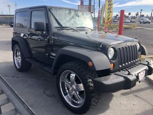 2008 Jeep Wrangler 4x4 Payments ok $399 down for Sale in Las Vegas, NV