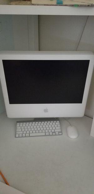 Apple iMac Desktop Model A1076 with wireless keyboard and mouse for Sale in San Jose, CA