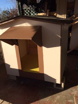 """BIG DOGHOUSE FOR 2 MEDIUM DOG SIZE"" Newly Built. for Sale in Moore,  OK"