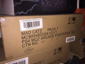 PS4 PS3 Mad Catz Arcade Fightstick for Sale in Silver Spring, MD