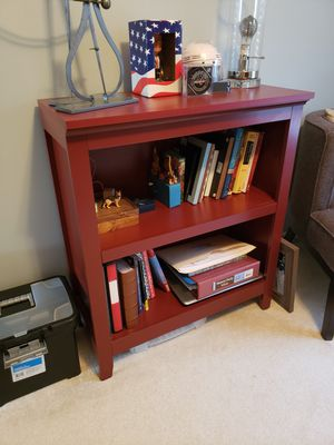 Red bookcase for Sale in Charles Town, WV