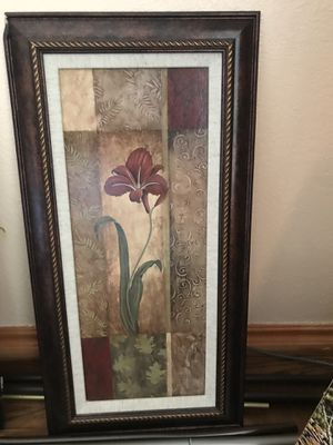 Cute home decor framed picture for Sale in Aurora, CO