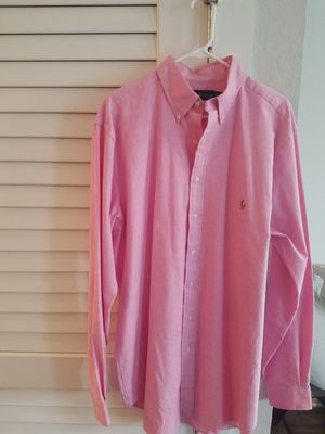 Ralph Lauren Oxford Pink, LT for Sale in Lexington, SC