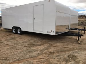 81/2 x24 x7 - 2- axle Enclosed cargo for Sale in San Diego, CA