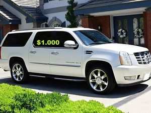 $10OO🔥 Very nice 🔥 2OO8 Cadillac Escalade Suv Runs and drive very smooth clean title!!!! for Sale in Minneapolis, MN