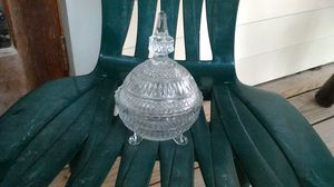 Crystal sugar bowl for Sale in Linden, PA