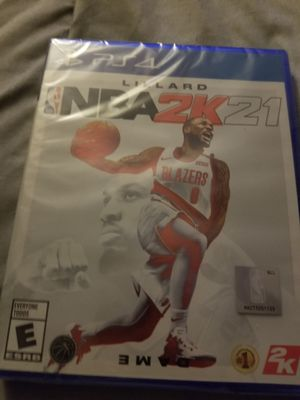 PS4 NBA2K 21 GAME for Sale in Ashland, MO
