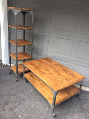 World Market coffee table and shelf for Sale in Bothell, WA