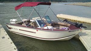 Blue Fin Fish & Ski Family Fun Boat 16' 60 HP Johnson $5,000.00 for Sale in Little Orleans, MD