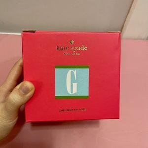 New Kate Spade Mug (letter: G) for Sale in Chelsea, MA