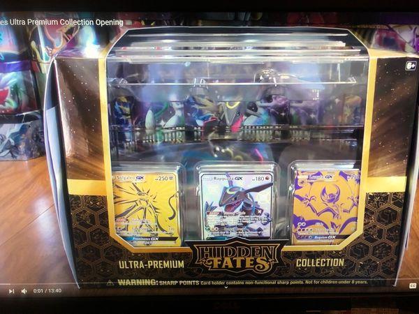 Hidden Fates Ultra-Premium Collection Pokemon