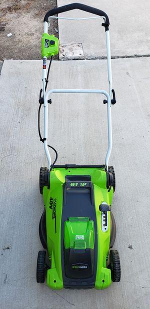 Greenworks lawn mower for Sale in Whittier, CA