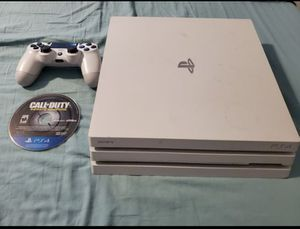 PS4 Pro 1TB White Edition for Sale in Austin, TX
