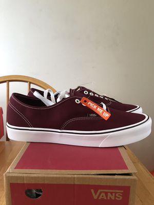Brand new vans authentic light skate skateboard shoes Port Royale men's size 12 for Sale in La Mesa, CA