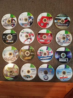 Xbox 360 game collection (16-WILLING TO NEGOTIATE) for Sale in St. Louis, MO