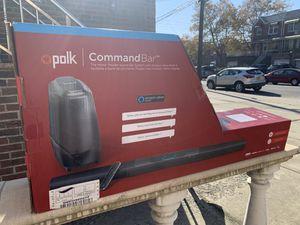 Polk CommandBar Soundbar & Subwoofer with Amazon Alexa for Sale in Brooklyn, NY