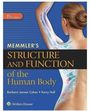 Memmler's Structure and Function of the Human Body for Sale in Rahway, NJ