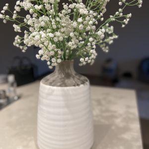 Ceramic Vase and Flowers for Sale in Laguna Beach, CA