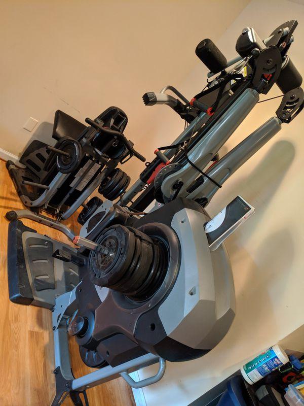 Bowflex Revolution Home Gym with Accessory Rack