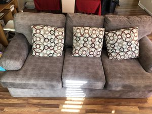 Couch and Oversized chair for Sale in Manassas Park, VA