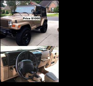 ֆ1OOO_1999 Jeep Wrengler for Sale in Portland, OR