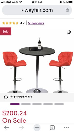 Retro dining table and chairs for Sale in Seattle, WA