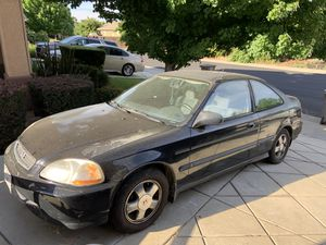 1999 Honda civic coupe for Sale in Elk Grove, CA