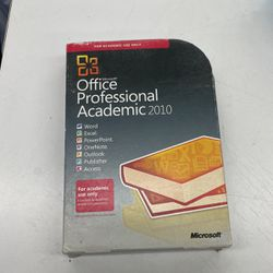 Microsoft Office professional academic 2010 for Sale in Levittown,  NY