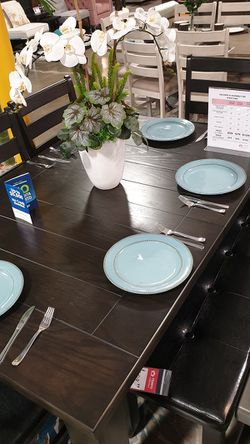 NEW, HOT SELLER, 6PC Dining Room SET, SKU# TC8810D for Sale in Westminster,  CA