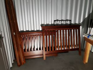 baby crib/toddler bed/ full bed for Sale in Salt Lake City, UT