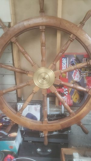 Sail boat steering wheel for Sale in Richmond, CA