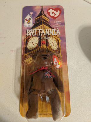 Rare Britannia Beanie Baby Printing Errors for Sale in Sioux Falls, SD