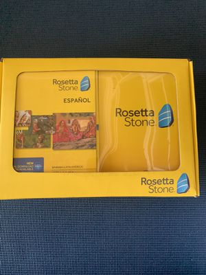 Free! Rosetta Stone Spanish Discs for Sale in Corona, CA