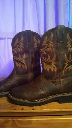 Justin work boots for Sale in Smyrna, TN