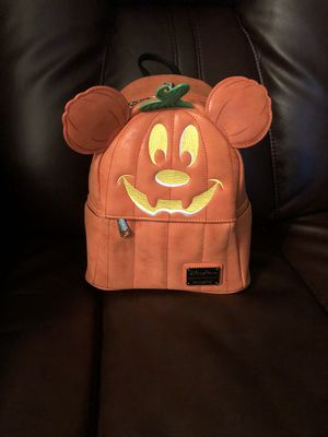 "Disney Park's Lounge Fly ""Pumpkin Mickey "" BackPacks for Sale in Fort Lauderdale, FL"