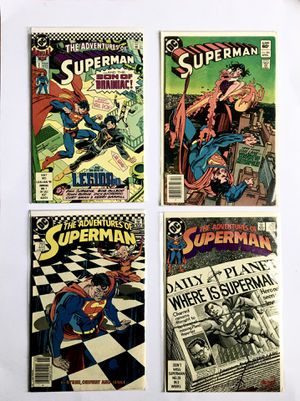 Comic book Superman for Sale in Hillcrest Heights, MD