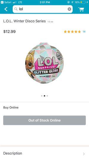 LOL Surprise Glitter Globe . for Sale in Nashville, TN