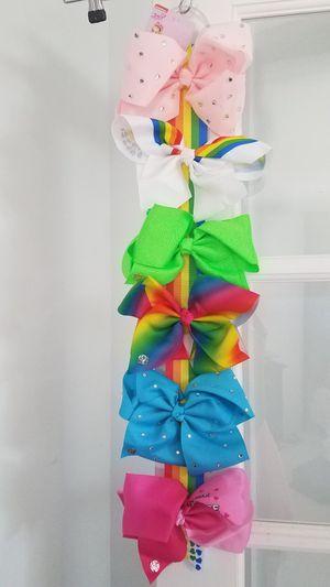 Girl's Jojo Siwa Bows NWT. Set of 6 for Sale in Davie, FL