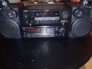 Yamaha receiver and onkyo amp audiovox speakers for Sale in Columbus, OH