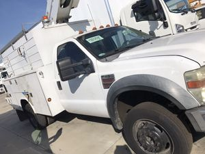 2008 ford f450 with a hydraulic bucket for Sale in South Gate, CA