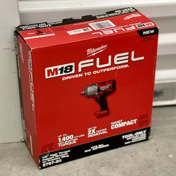 """Milwaukee M18 FUEL 1/2"""" impact wrench with friction ring for Sale in The Bronx,  NY"""
