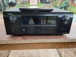 500 watts Denon surround sound HDMI receiver with remote control plus Pioneer surround sound bundle with subwoofer for Sale in Washington, DC