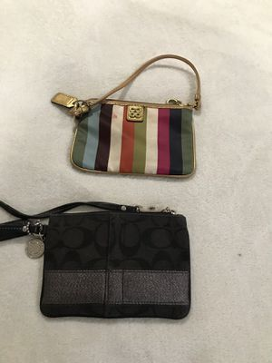 Coach clutches for Sale in Gaithersburg, MD