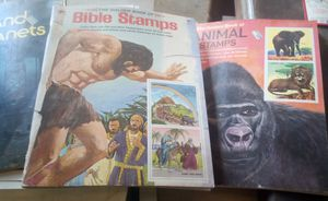 VINTAGE GOLDEN BOOK STAMP BOOKS for Sale in French Camp, CA