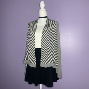 Grey and White Striped Cardigan for Sale in Royal Oak, MI