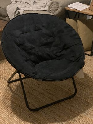 Black foldable chairs for Sale in Clayton, NC